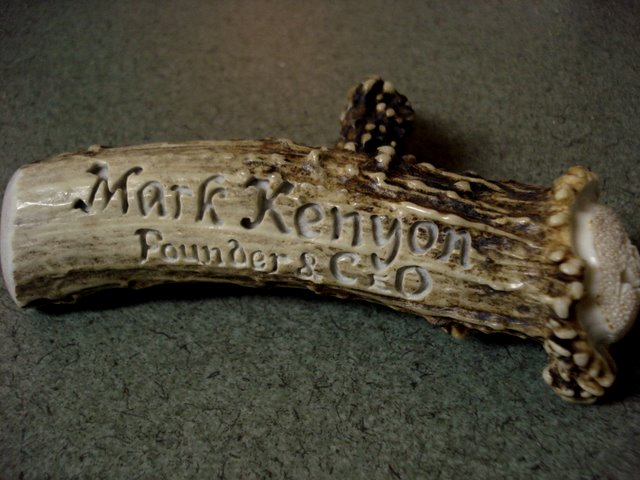Namplate Carving