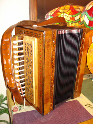 Hand Harmonika Leather Strap