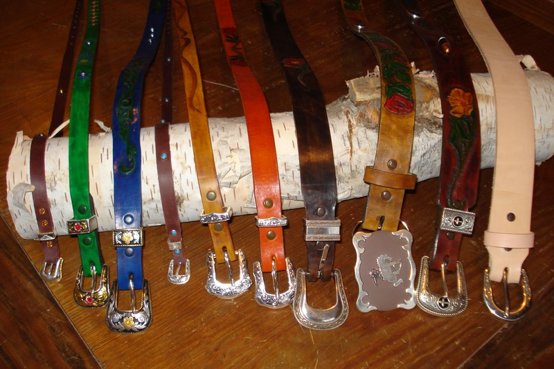 Leather Belts for Family