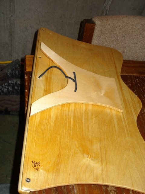 Baltic Birch Table Top Music Stand